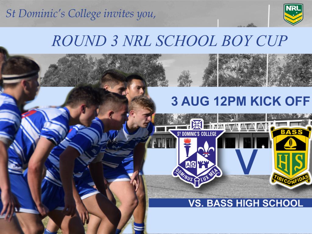 Round 3 NRL School Boy Cup 2018