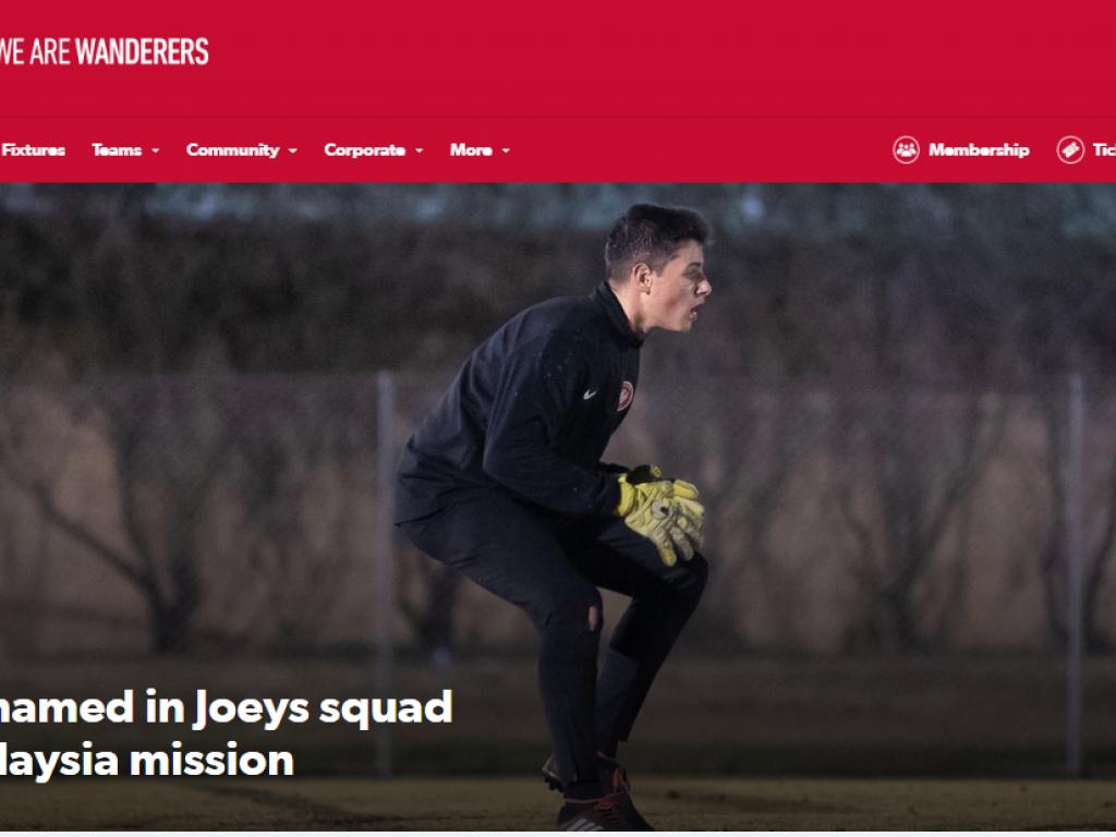 Oliver Kalac (Y10) joins Australian Football Squad
