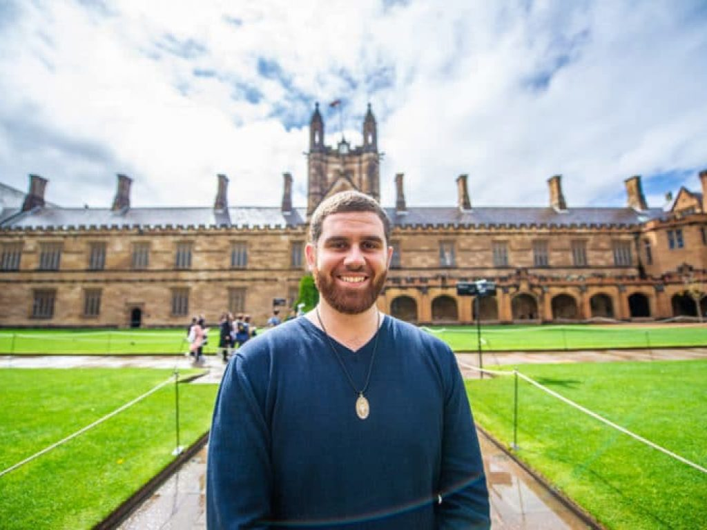 'Standing up for free speech at USyd' Ex-student, Francis Tamer