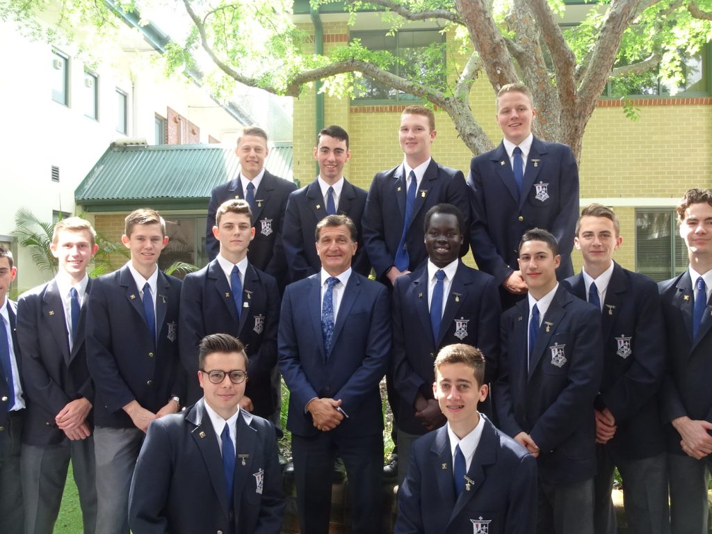 Investiture of College Prefects