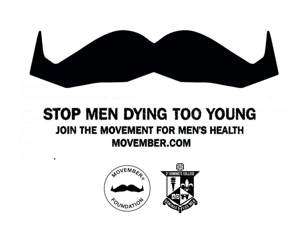 Movember at St Dominic's College