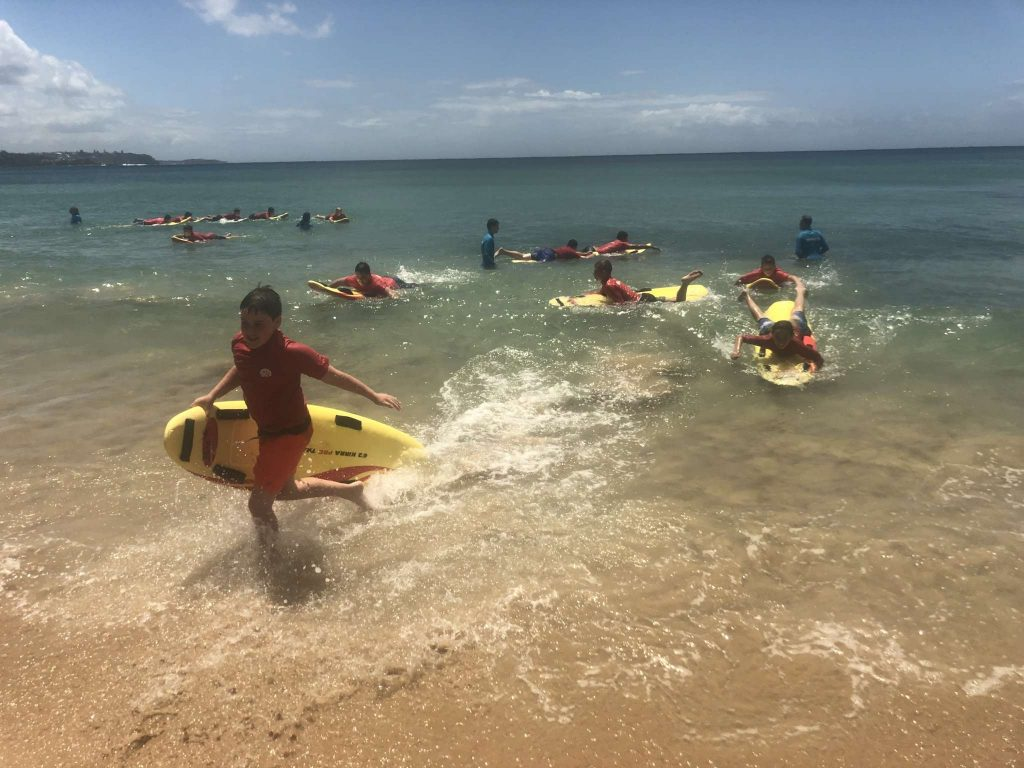 Year 8 Manly Surf Education