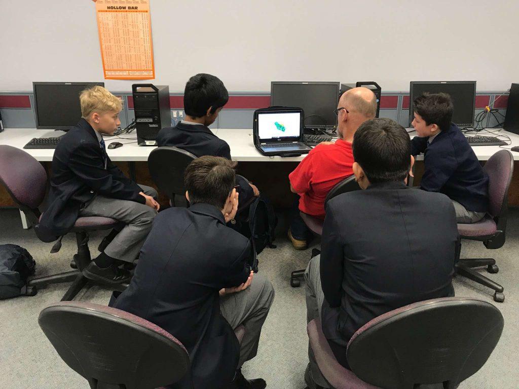 F1 In-Schools Team TAFE Visit
