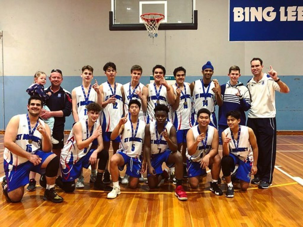 St Dominic's College NSWCCC Basketball Champions