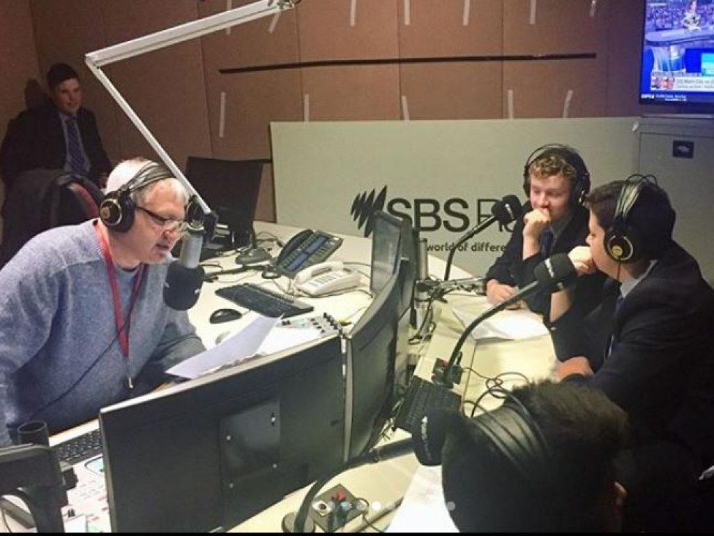 Yr 9 Italian SBS Interview