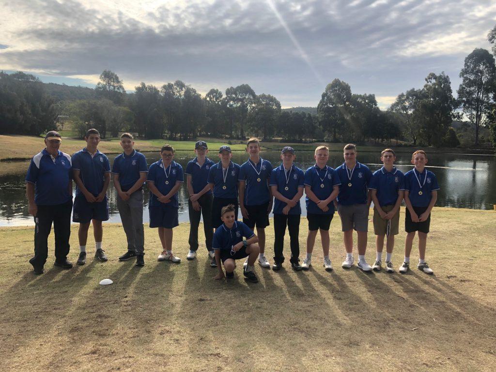 St Dominic's MCS 2019 Golf Team Report