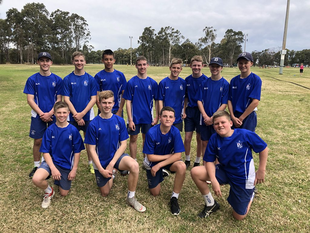 Year 8 MCS Touch Football – Champions 2019
