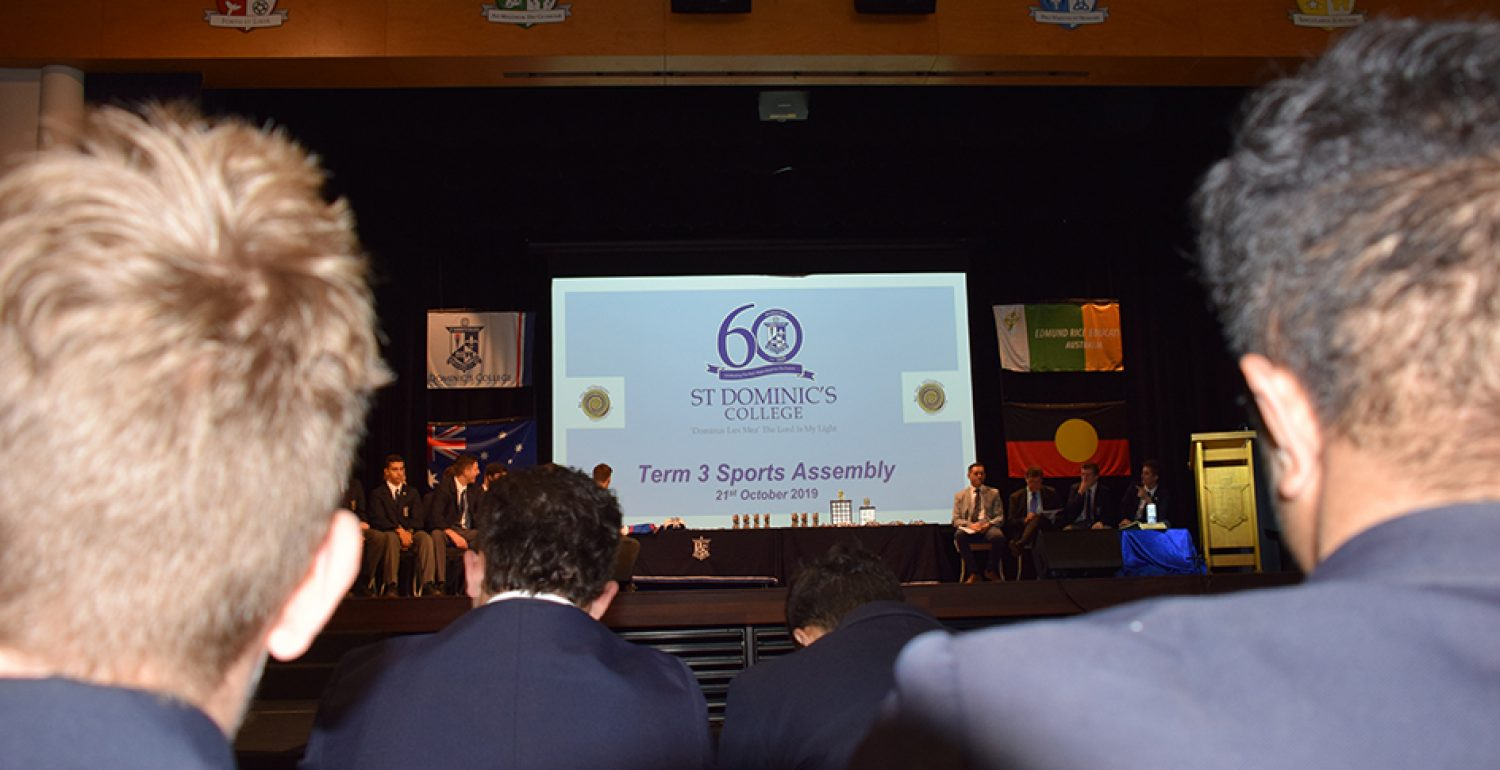 College Co-curricular Sports Assembly