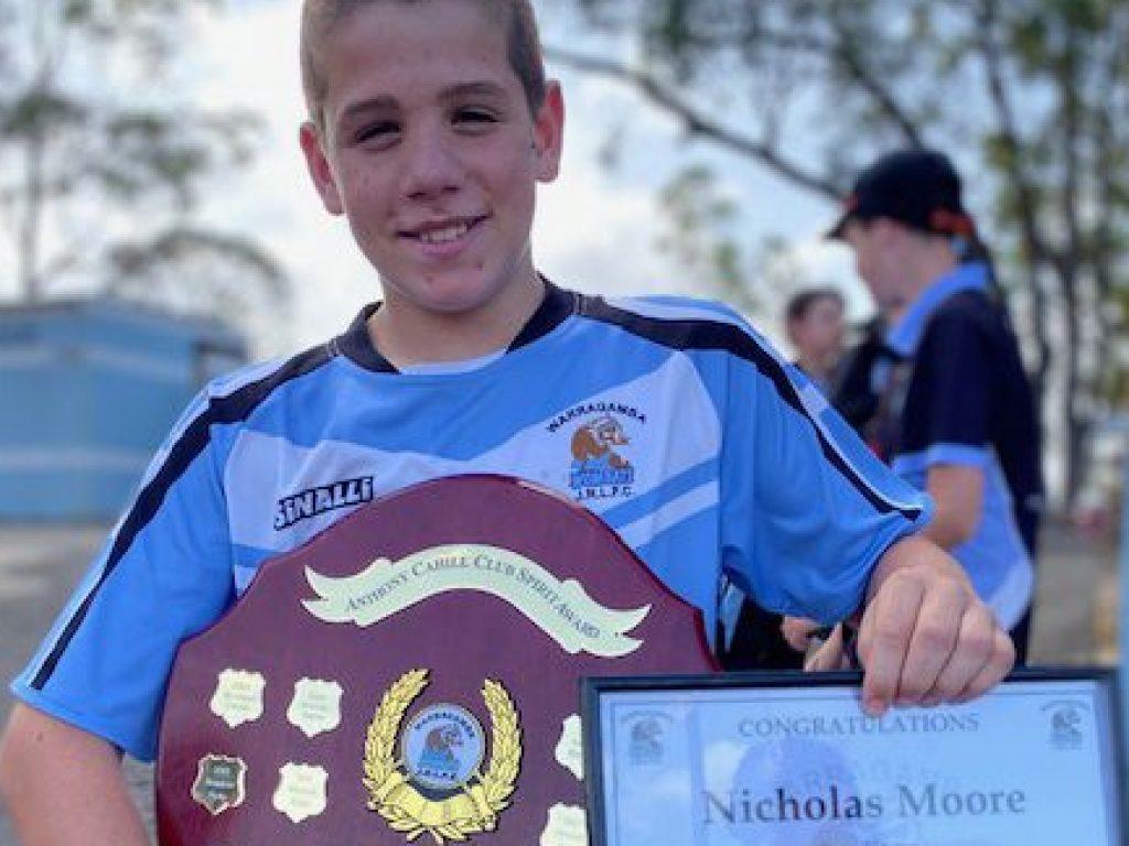Congratulations Nicholas Moore