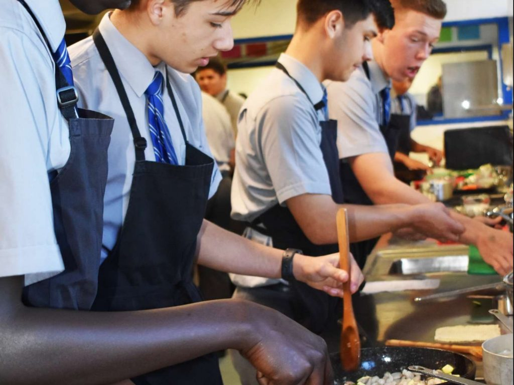 Years 9 and 10 Food Tech – Back in the Kitchen