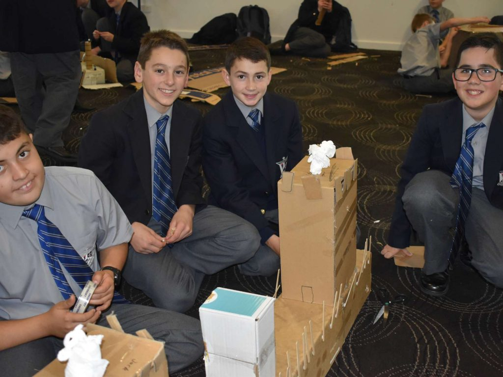 Year 7 Embark Recreate The Great Wall of China