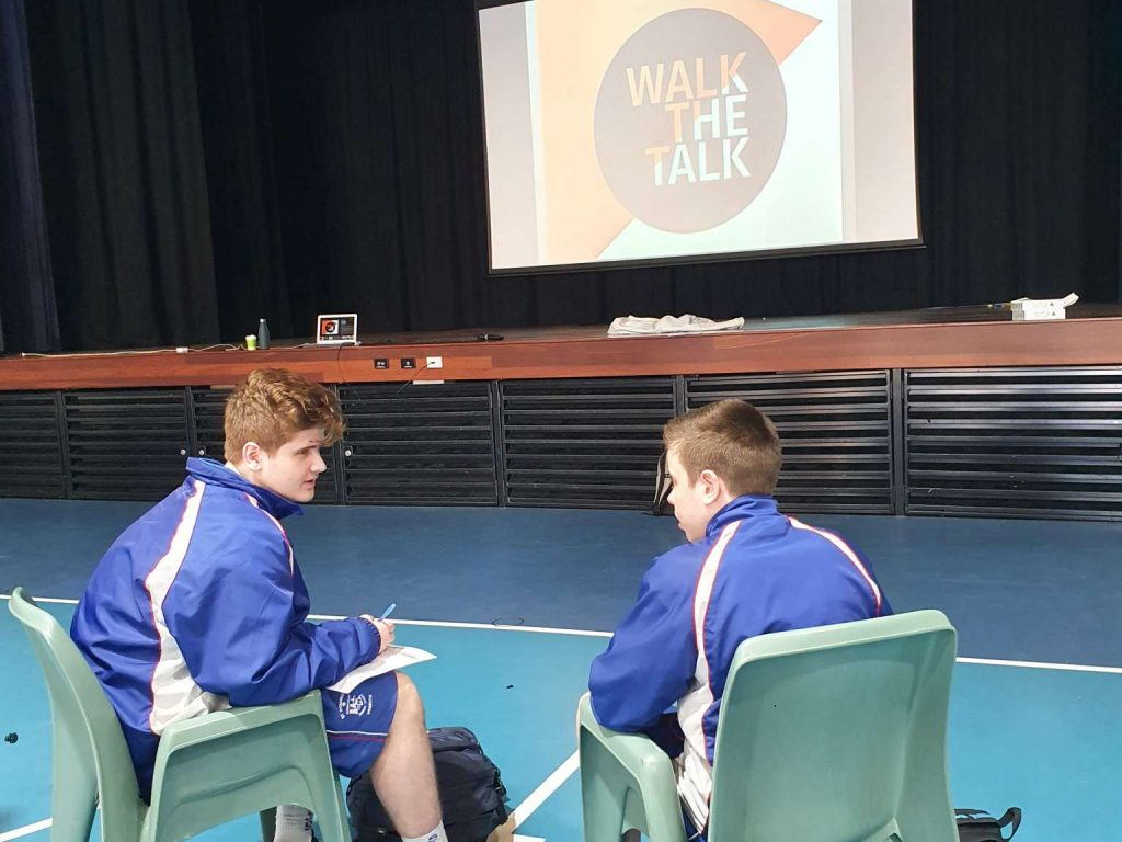 Year 10 and 11 'Walk The Talk'
