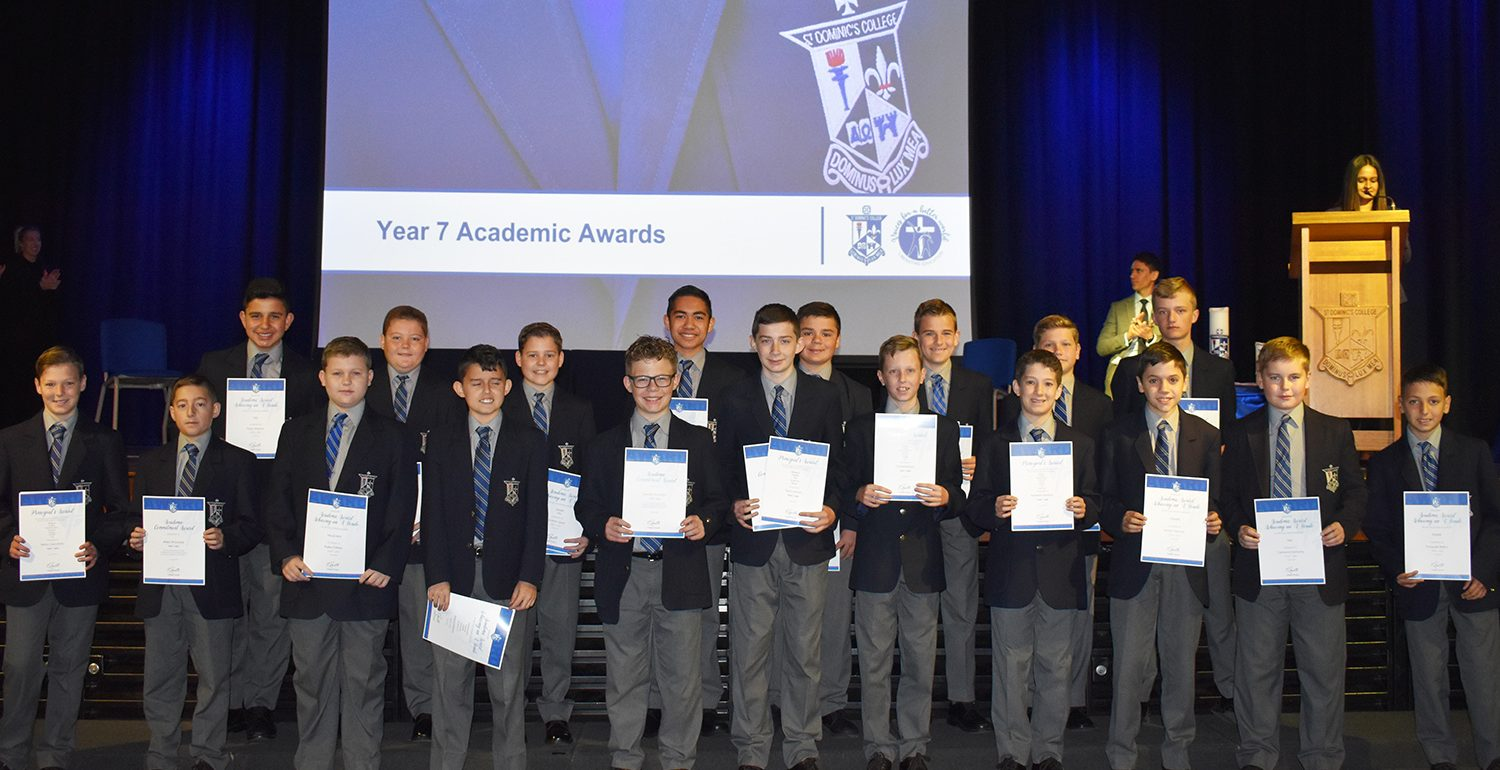 Years 7 and 10 Semester 1 Academic Awards Assembly