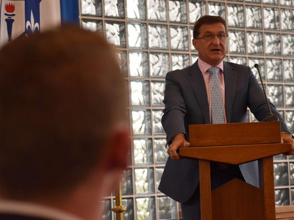Principal's Address – September 2020