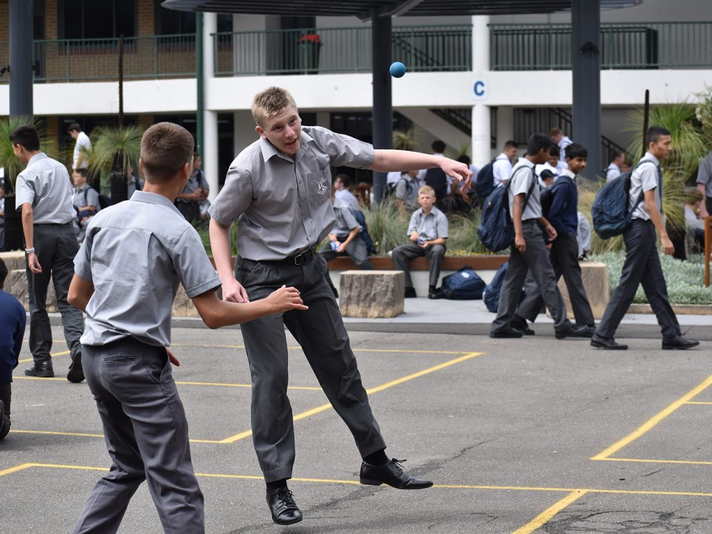 Students Settle in at St Dominic's College