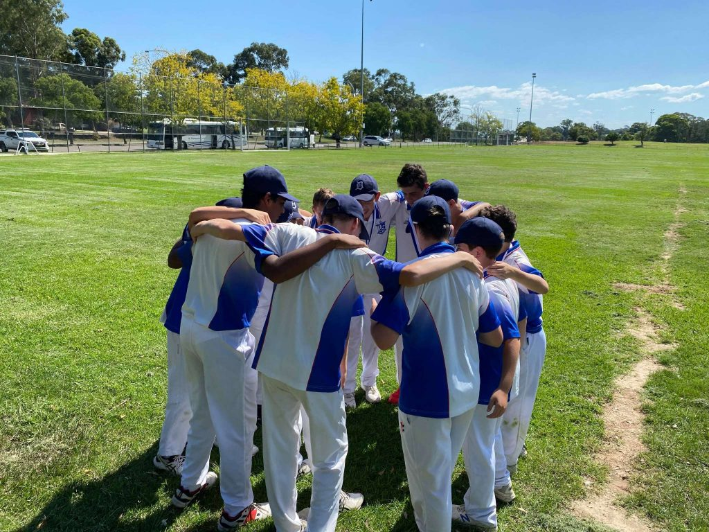 Year 7/8 MCS Cricket Champions 2020/21