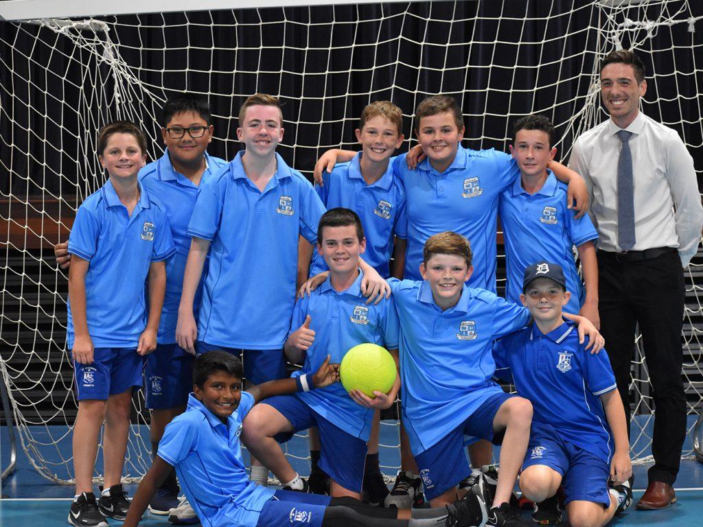 Surawski Win 2021 Year 7 Futsal House Cup
