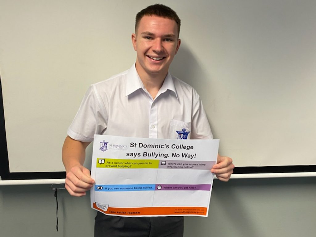 St Dominic's College Taking Action Together