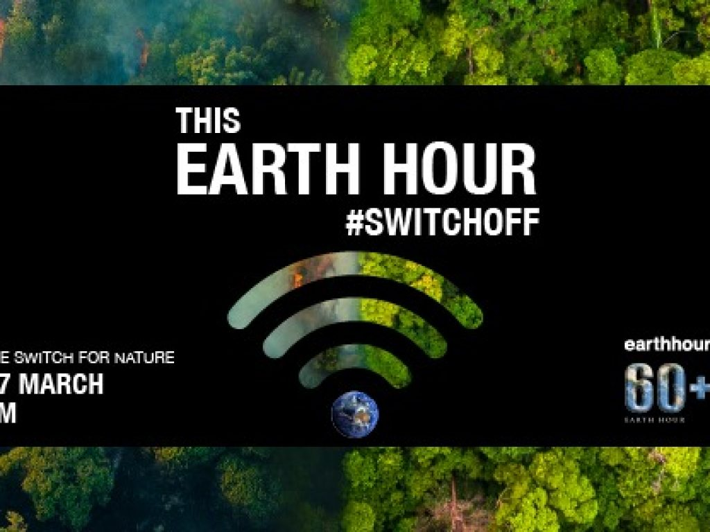 Earth Hour – Saturday, 27th March