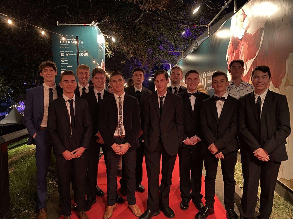 Italian Students Enjoy a Night at the Opera
