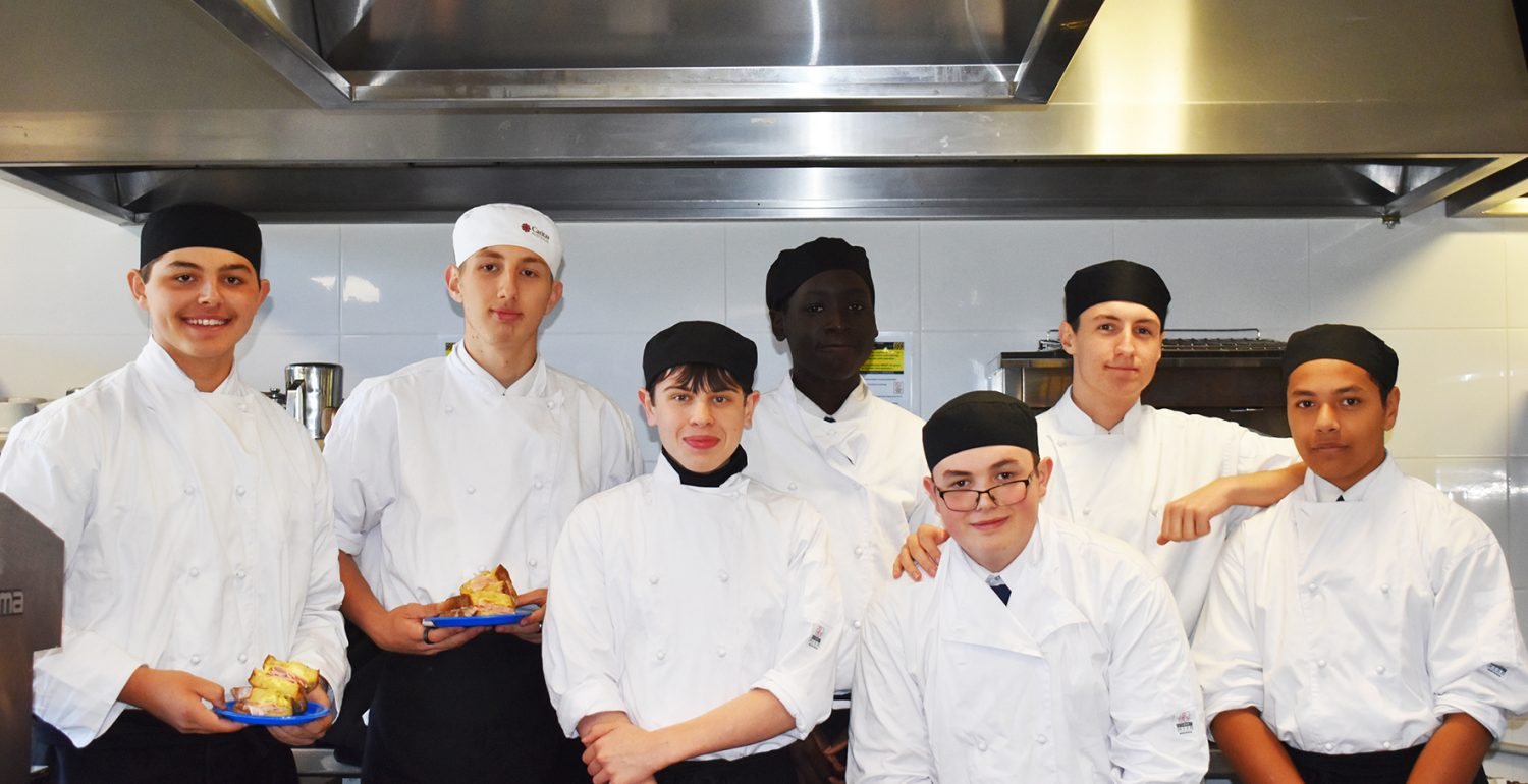 Year 11 Hospitality Perfecting their Skills