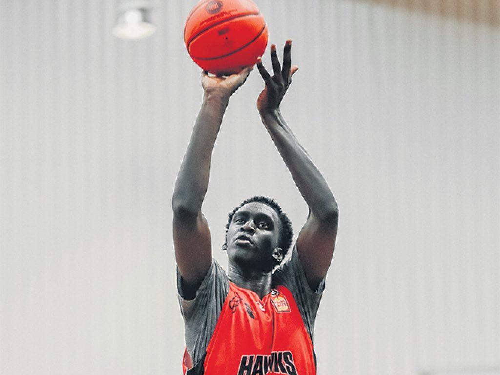 Basketball Success for Former Student, Akoldah Gak