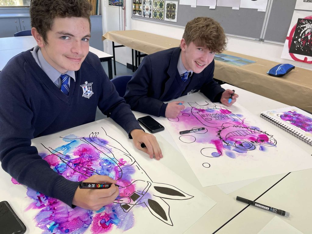 Year 9 Visual Arts – Responding to COVID: Action / Reaction